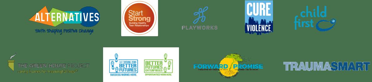 Robert Wood Johnson Foundation - partnership logos